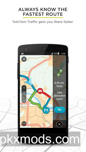 TomTom GPS Nav. Traffic v1.17.3 Build 2124 Fix1 Patched