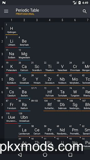 Periodic Table 2018 Pro v0.1.56 Final [Patched]