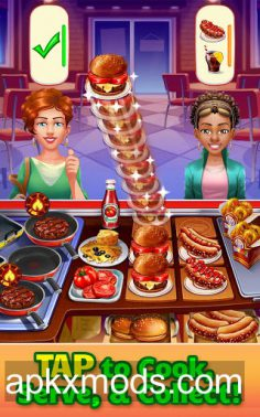 Cooking Craze v1.25.1 (Mod Money)