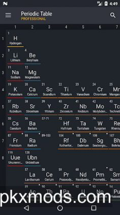 Periodic Table 2018 Pro v0.1.61 [Patched]