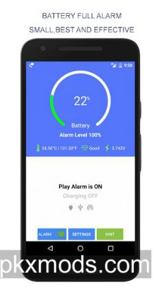 Battery Full Alarm and Battery Low Alarm – No Ads v45 [Paid]