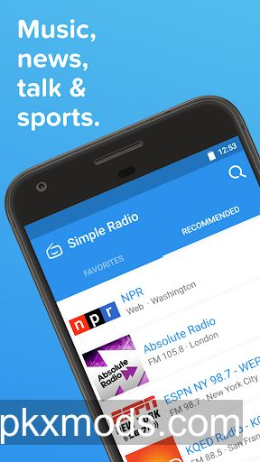 Simple Radio – Free Live FM AM v2.2.8.1 [Premium]