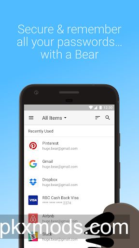 RememBear: Password Manager v1.2.1 [Subscribed]
