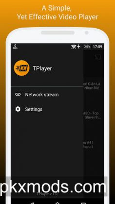TPlayer – All Format Video Player v1.8b [Mod Ad-Free]