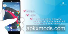 Quick Arc Launcher ( Smart One Swipe Launcher ) v2.3.9