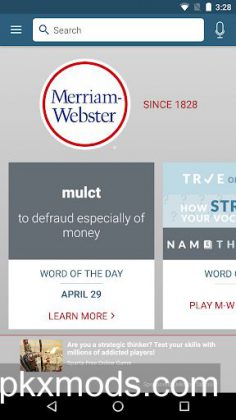 Dictionary – Merriam-Webster v4.3.2 [Ad Free]