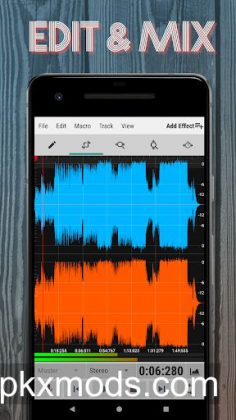 WaveEditor for Android™ Audio Recorder & Editor v1.66 [Pro]