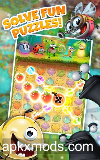 Best Fiends – Free Puzzle Game v6.4.0 (Mod Money)