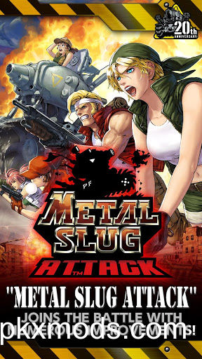 METAL SLUG ATTACK v3.21.0 [Infinite AP]