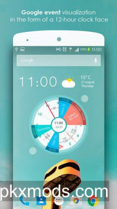 Sectograph. Planner & Time manager on clock widget v5.9.1 [Pro]