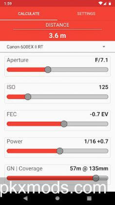 Manual Flash Calculator (Pro) v1.1.0