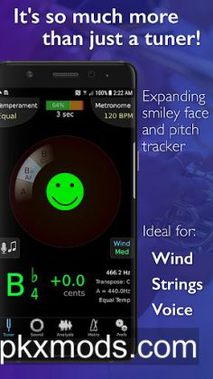 TonalEnergy Tuner and Metronome v1.5.8 (Patched)