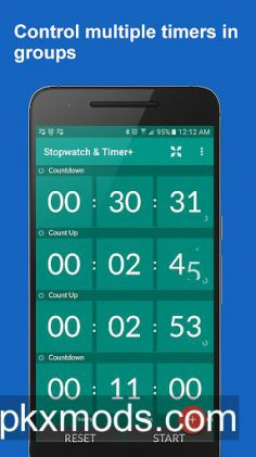 Stopwatch & Timer+ v1.35 [Paid]