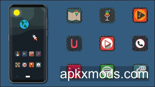 MilkyWay – Icon Pack v1.0a [Patched]