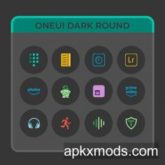 OneUIDark Round – Icon Pack v1.0.4 [Patched]