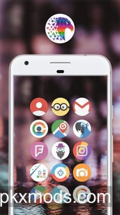 Pix Up – Round Icon Pack v2.40 [Paid]