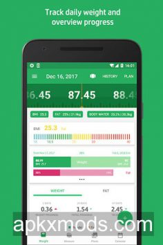 Weight Track Assistant – Free weight tracker v3.10.5.1 [Pro] [Mod]