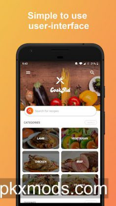 CookAid – Recipes & Nutrition v2.1.5 [Paid]