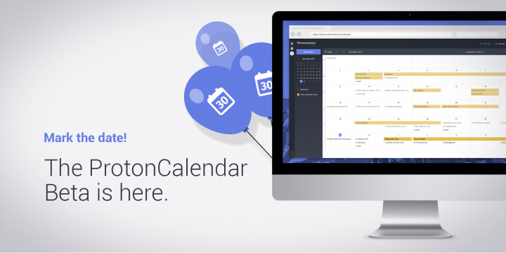 The team behind ProtonMail announces ProtonCalendar, brings end-to-end agenda encryption