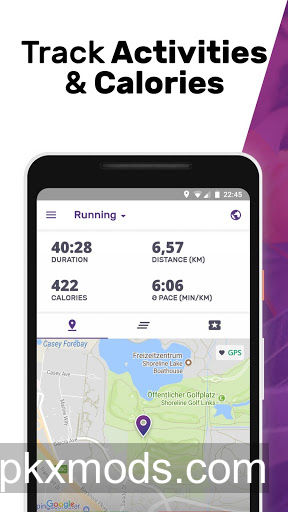 FITAPP Running Walking Fitness v5.40 [Premium] [Mod] [SAP]
