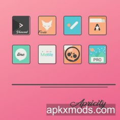 Apricity – Icon Pack v1.0.5 [Patched]