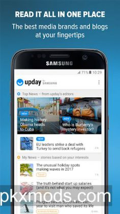 upday news for Samsung v2.5.13671 [AdFree]