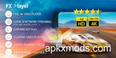 FX Player – video player, cast, chromecast, stream v2.0.7 [Premium]