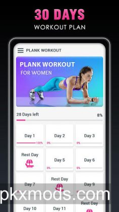 Plank Workout – 30 Day Challenge for Weight Loss v1.4