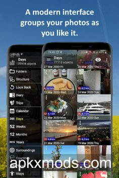 PhotoMap PRO Gallery – Photos, Videos and Trips v9.5.7 [Paid]
