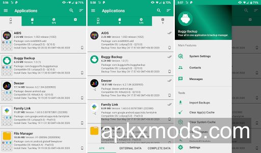 Buggy Backup Pro v23.0.9 [Paid] [Patched]