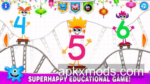 Learning numbers for kids! 123 Counting Games! v2.0.1.5 [Mod]