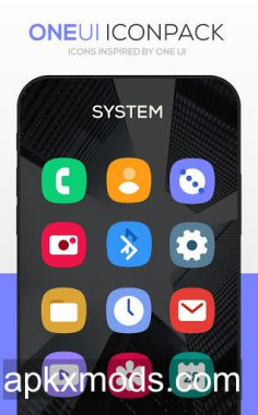 ONE UI Icon Pack v2.6 [Patched]
