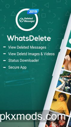 WhatsDelete: View Deleted Messages & Status saver v1.1.42 (Pro)