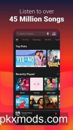 Gaana Music Hotshots Hindi Song Free Tamil MP3 App v8.14.1 [Plus]