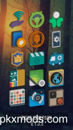 Tigad Pro Icon Pack v2.7.8 [Patched]
