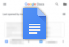 Google Docs now warns you when mentioning a user who's out of office