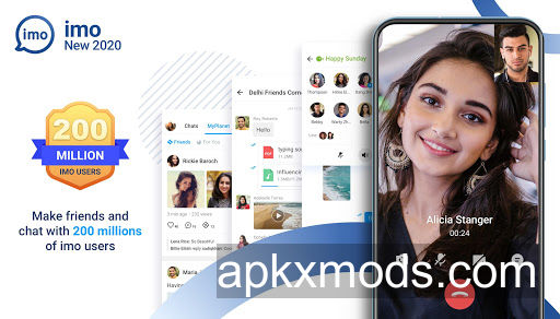 imo free video calls and chat v2021.01.2031 [Final] [Premium] [Mod]