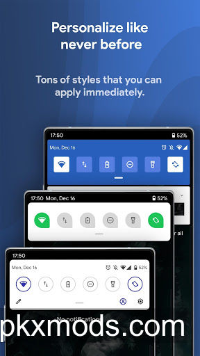 Power Shade: Notification Bar Changer & Manager v17.8+ [Pro][Modded]