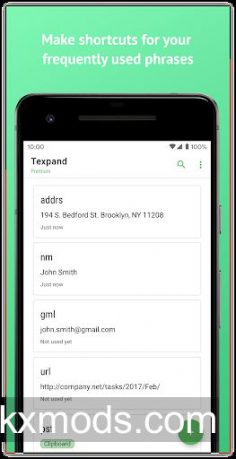 Text Expander, Text Replacement • Texpand v2.0.3 – b64f984 (Premium)