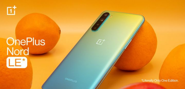 OnePlus is giving away a Nord that looks like an unripe orange