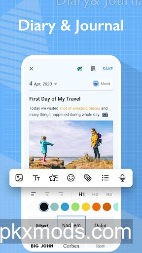 My Diary Journal, Diary, Daily Journal with Lock v1.02.38.0721.2 (Pro)