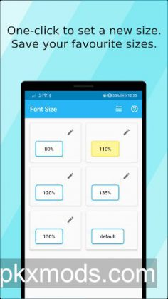 Font Size (ad free) v1.15.1 [Paid]